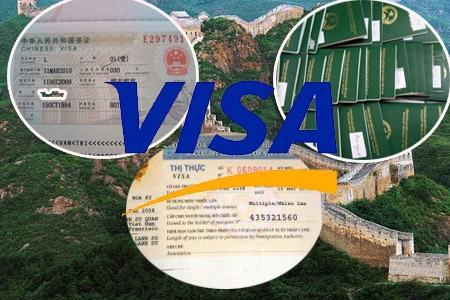 Thông báo: Đại sứ quán Trung Quốc đã cho cho phép đóng lại visa 6 tháng và 1 năm nhiều lần