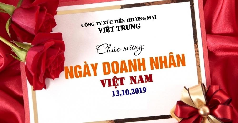 CHÚC MỪNG NGÀY DOANH NHÂN VIỆT NAM - 13.10